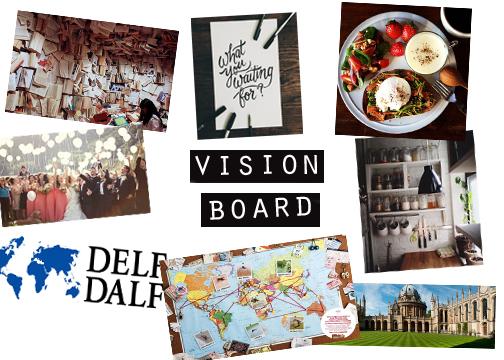 AULIA vision board